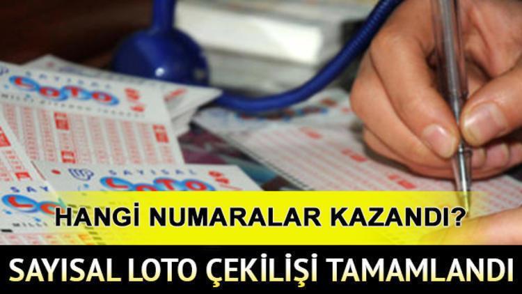 MPİ Sayısal Loto sonuç sorgulama ekranı | 25 Ocak Sayısal Loto çekilişi tamamlandı