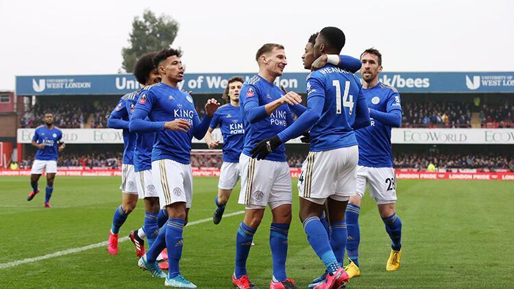 Leicester City ve Chelsea, Federasyon Kupası'nda 5. tura çıktı