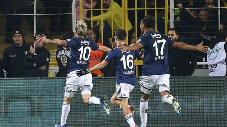 Fenerbahçe'de 43 hafta sonra bir ilk