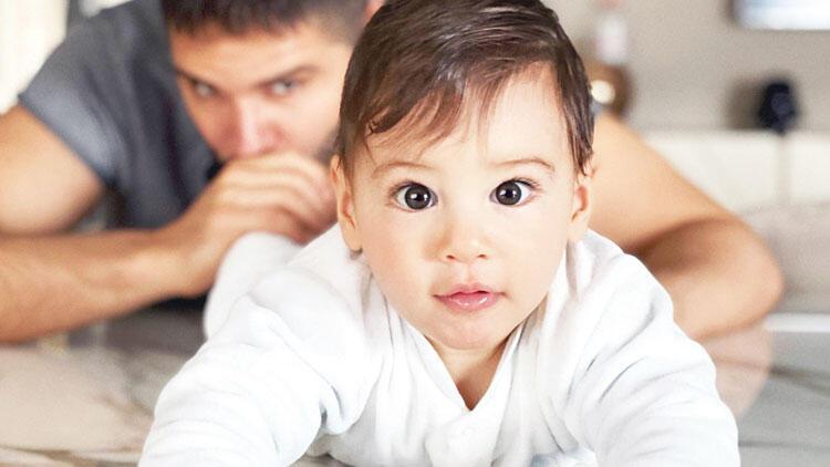 Almeda Abazi'nin objektifinden Tolgahan Sayışman ve oğlu Efehan