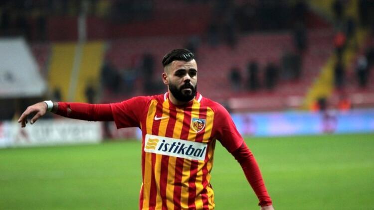 Kayserispor'da Hasan Hüseyin Acar, 3 hafta sahalardan uzak kalacak