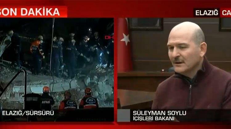 Son dakika haberi: Bakan Soylu canlı yayında açıkladı! Ortak deprem hattı geliyor
