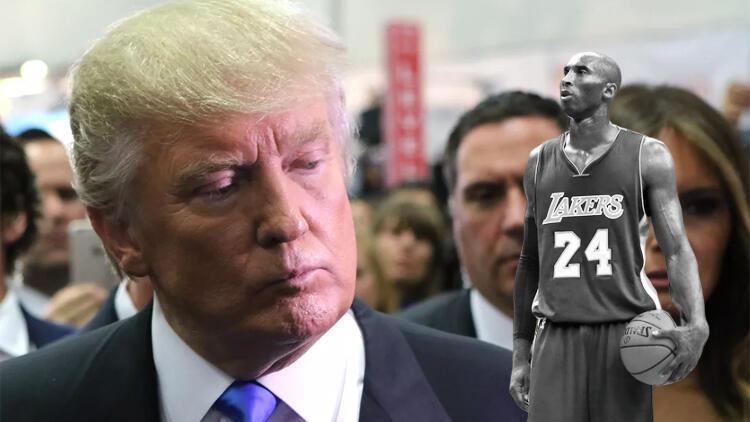 Son Dakika | Kobe Bryant'ın ölümü sonrası Trump da şokta: Korkunç bir haber