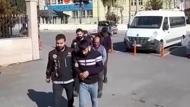 Şanlıurfa'da 'torbacı' operasyonu: 6 tutuklama