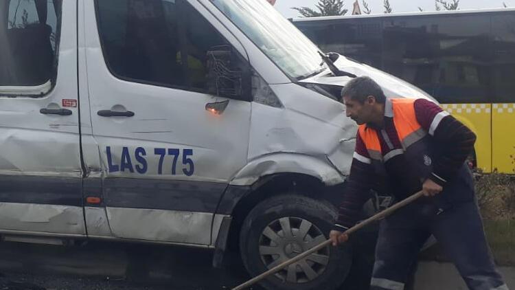 Son dakika haber: Sultangazi'de zincirleme kaza: 6 yaralı
