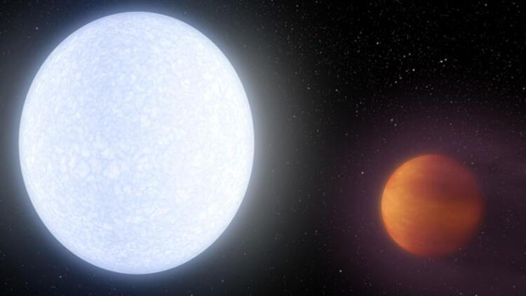 Yüzey sıcaklığıyla atmosferindeki molekülleri parçalayan gezegen
