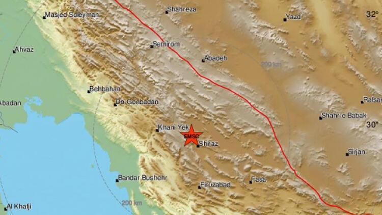 Son dakika: İran'da 5.4 büyüklüğünde deprem