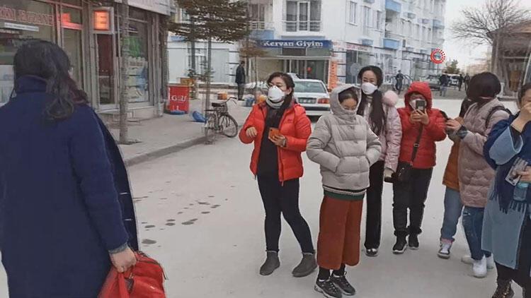 Son dakika... Aksaray'da koronavirüs paniği! 12 kişi hastaneye kaldırıldı