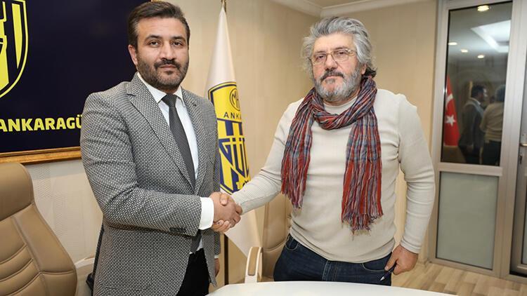 Son Dakika | Ankaragücü'nün yeni teknik direktörü Mustafa Reşit Akçay oldu!