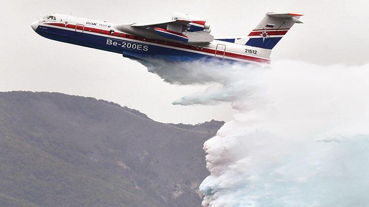Yangın söndürme uçakları geliyor