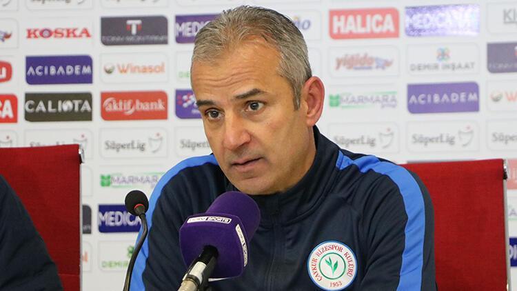 """Rizespor Teknik Direktörü İsmail Kartal: """"Şampiyonluğa oynayanlar..."""""""