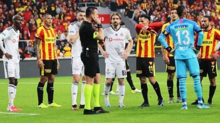 Son dakika | Beşiktaş, Göztepe maçının tekrarı için TFF'ye başvuracak