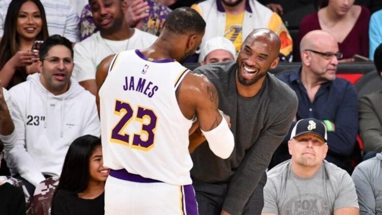 """LeBron James'ten Kobe Bryant'a duygusal veda! """"Kalbim kırık, yıkıldım..."""""""