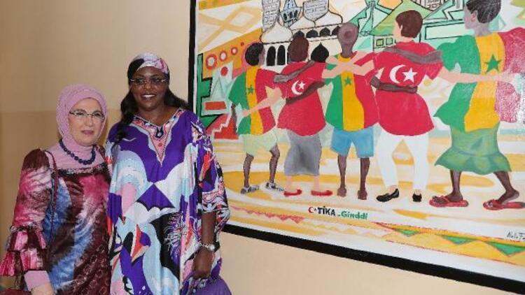 Emine Erdoğan, Senegal'de rehabilitasyon merkezi açılışını yaptı