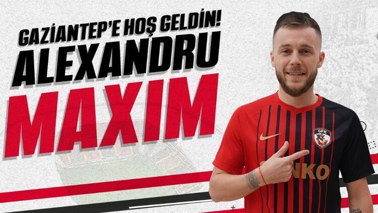 Transfer haberleri | Gaziantep FK, Alexandru Maxim'i kiraladı!