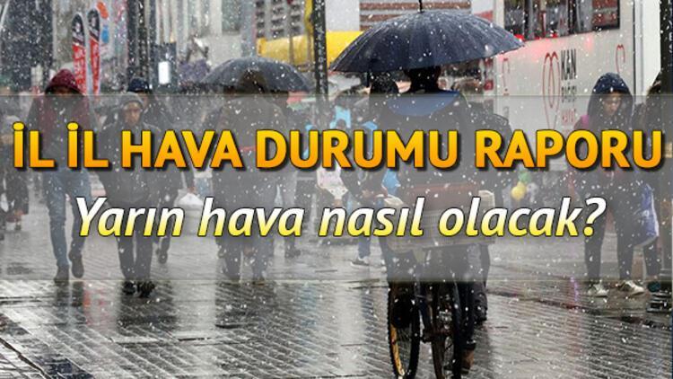 İstanbul'da kar yağacak mı? Yarın hava nasıl olacak? 29 Ocak Türkiye geneli hava durumu