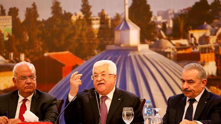 """Filistin Devlet Başkanı'dan net cevap: """"Bin kere hayır"""""""