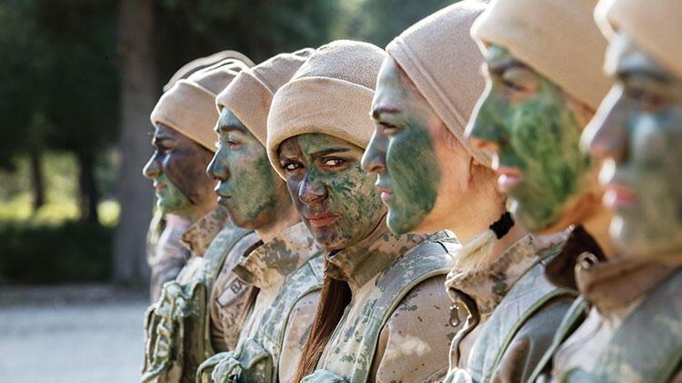 Jandarmanın ilk kadın komandoları