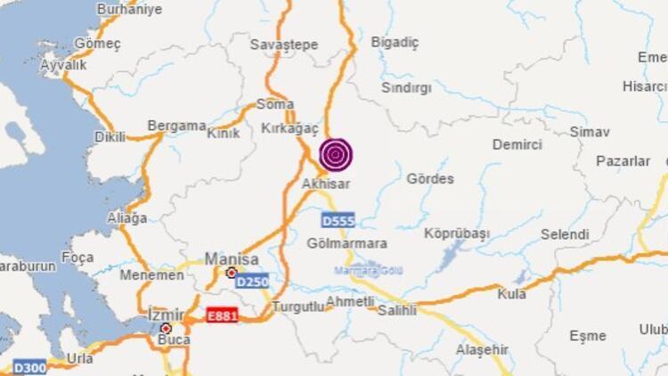 Son dakika... Manisa Akhisar'da 4.7 büyüklüğünde deprem! İzmir'de de hissedildi