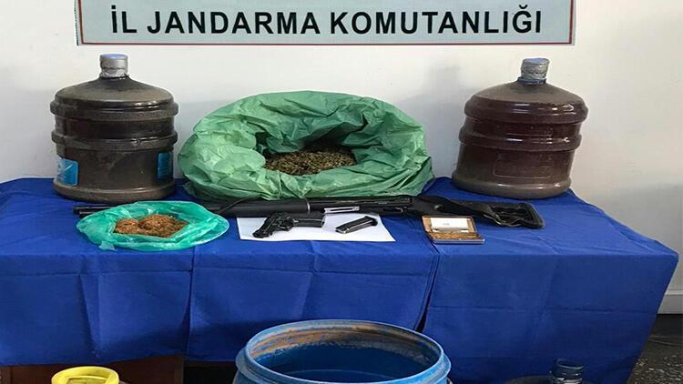 Kahta'da uyuşturucuya 1 gözaltı