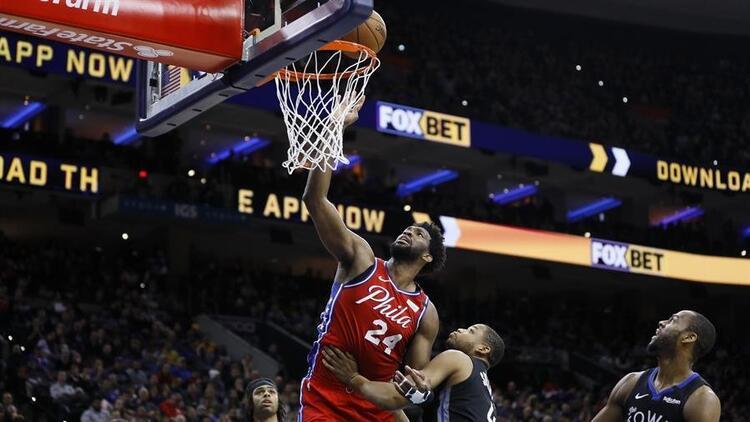 NBA'de gecenin sonuçları | Embiid'den Kobe Bryant anısına 24 sayı!