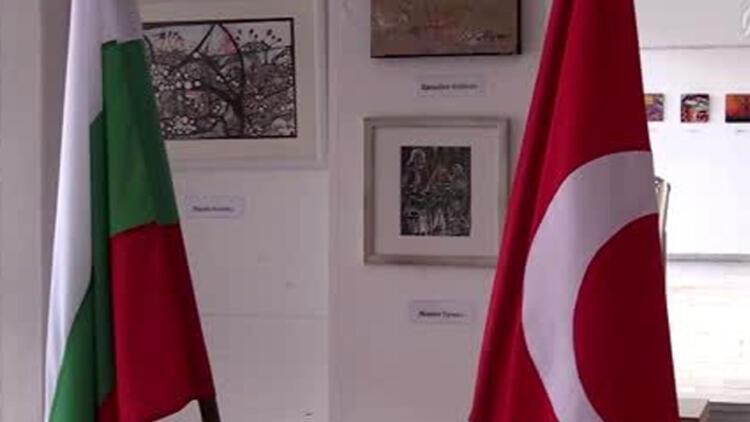 Bulgaristan'da Türk Çağdaş ressamlar karma sergisi açıldı
