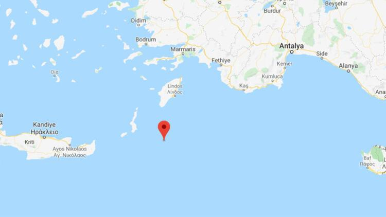 Son dakika haberler... Akdeniz'de 4.5'lik deprem