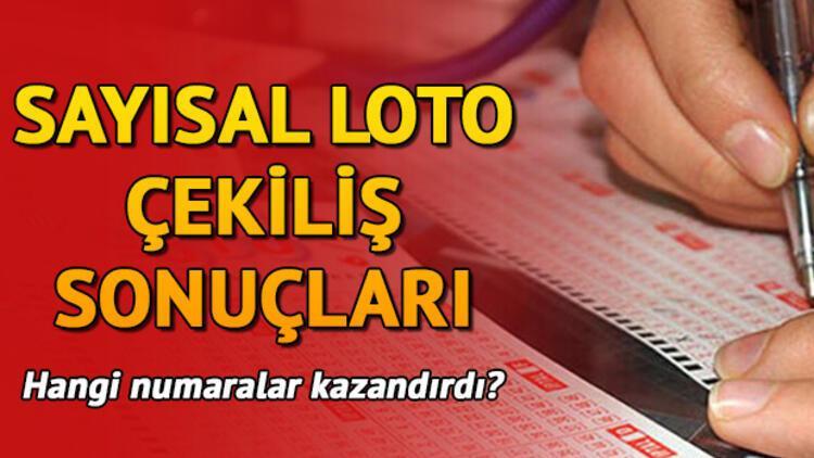 Haftanın ilk Sayısal Loto çekiliş sonuçları açıklandı! Sayısal Loto sorgulama ekranı (4 milyon TL 1 kişiye çıktı)