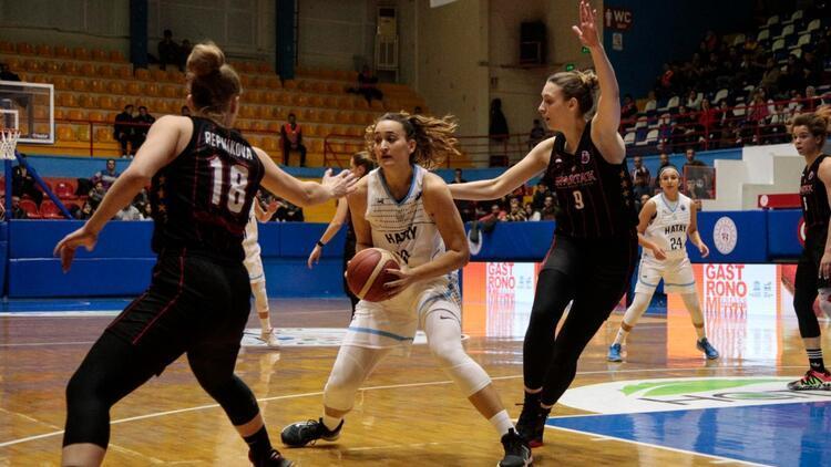 Hatay Büyükşehir Belediyespor galibiyetle veda etti