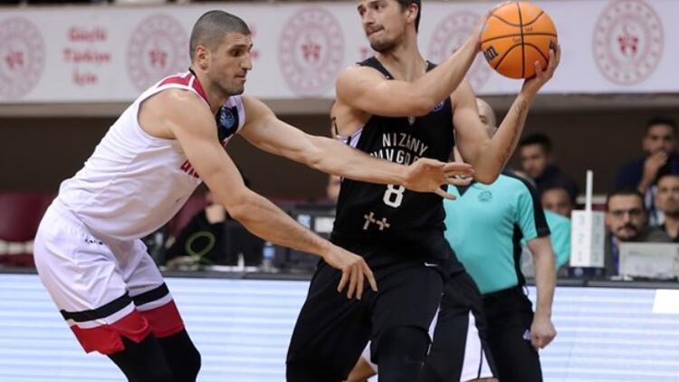 Nizhny Novgorod: 89 - Gaziantep Basketbol: 64
