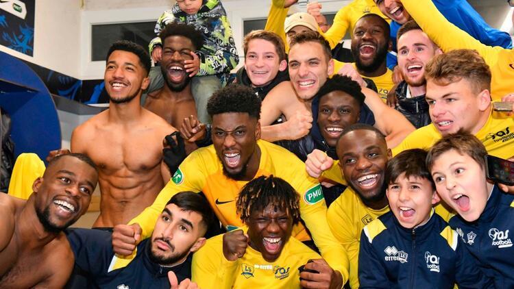 Amatör lig takımı Epinal, Lille'i Fransa Kupası'ndan eledi
