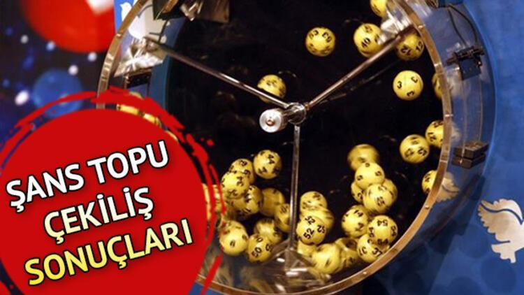 MPİ Şans Topu sonuçları sorgulama linki   Şans Topu'nda haftanın kazanan numaraları belli oldu