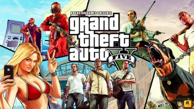 GTA 5 tarihinin en çok satan üçüncü oyunu olmayı başardı
