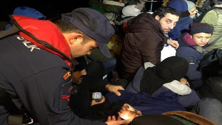 Bodrum'da 39 göçmen yakalandı