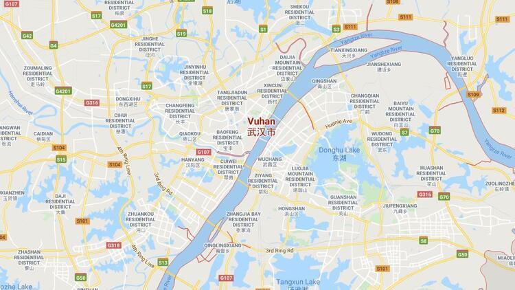 Vuhan nerede? Harita üzerinde Wuhan bölgesi