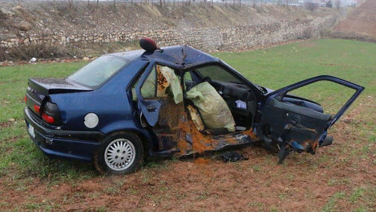 Adıyaman'da iki otomobil çarpıştı: 1 ölü, 3 yaralı