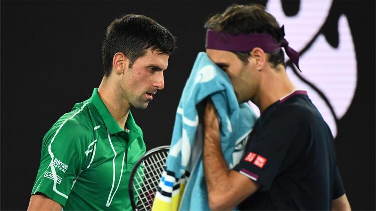 Son Dakika   Roger Federer'i 3-0 yenen Novak Djokovic Avustralya Açık'ta finalde