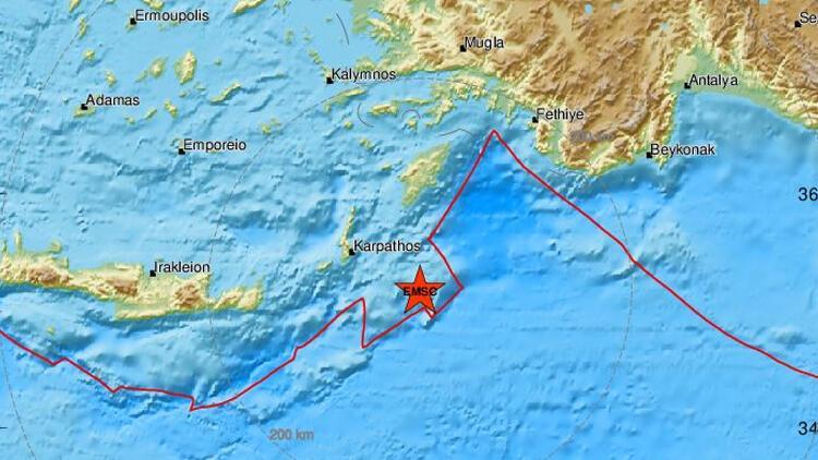 Son dakika haberler... Akdeniz'de art arda korkutan deprem