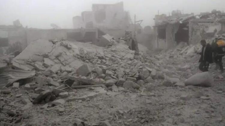 Suriye'de İdlib'e yönelik saldırılar sürüyor