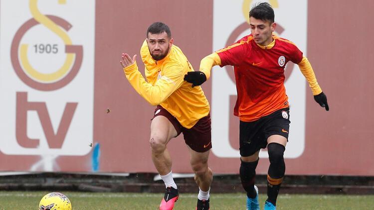 Galatasaray, Kayserispor maçı hazırlıklarına devam etti