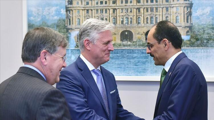 Son dakika haberi: Cumhurbaşkanlığı Sözcüsü İbrahim Kalın, ABD Güvenlik Danışmanı O'Brien ile görüştü