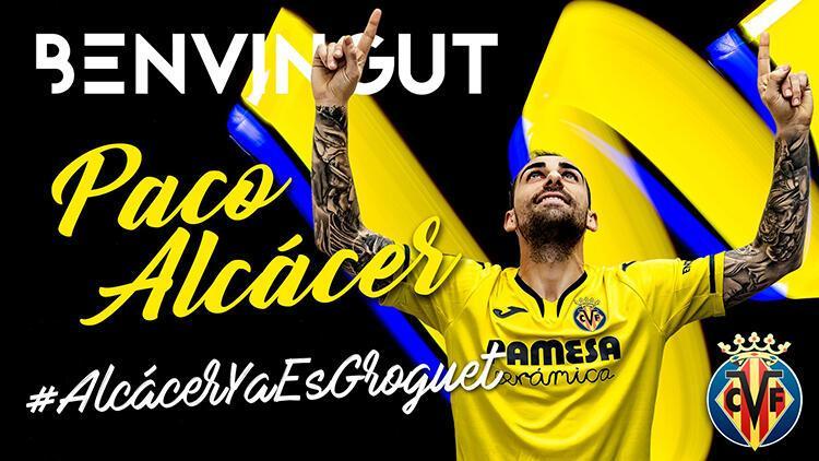 Villarreal, Francisco Alcacer'i renklerine bağladı | Transfer Haberleri