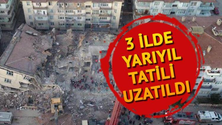 Deprem olan illerde okullar ne zaman açılacak? İşte, Elazığ, Malatya, Manisa'da okulların açılış tarihi