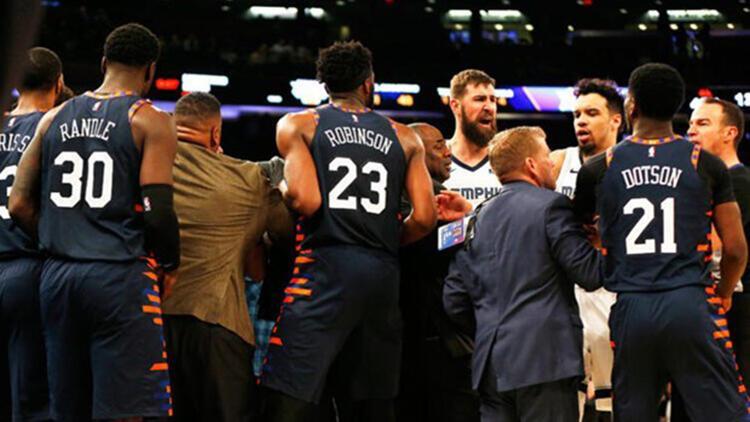 NBA'de çirkin kavga!