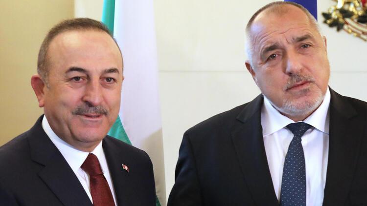 Çavuşoğlu, Bulgaristan Başbakanı Boyko Borisov ile görüştü
