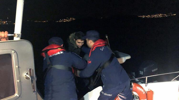 Bodrum'da 16 göçmen yakalandı