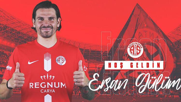 Son Dakika Transfer Haberleri | Ersan Adem Gülüm resmen Antalyaspor'da!