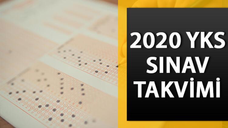 2020 üniversite sınavı ne zaman olacak? YKS başvuruları ne zaman başlayacak?