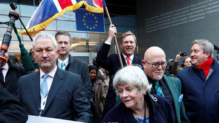 Avrupa Birliğinde Brexit töreni