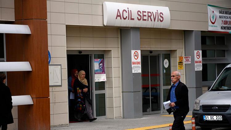 Niğde'de sobadan zehirlenen 20 kişi tedaviye alındı